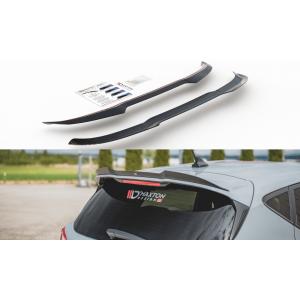 Maxton Rear Spoiler Extension V3 Black ABS Plastic Ford Fiesta-76989