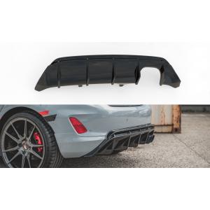 Maxton Rear Diffuser V2 Black ABS Plastic Ford Fiesta-76990