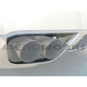 AeroworkS Exhaust Cover Carbon Nissan GT-R-30565