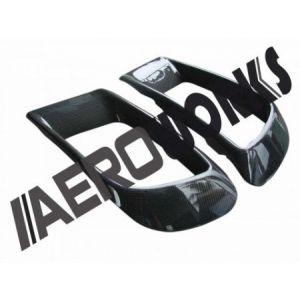 AeroworkS Front Air Duct Carbon Mitsubishi Lancer Evolution-30550