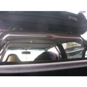 Summit Rear Strut Bar B+C Pillar Silver Aluminium Honda Civic-50190