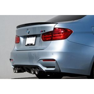 CarbonWorks Rear Diffuser Carbon BMW 3-serie,4-serie-64241