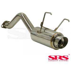 SRS Rear Muffler G50 Conical Flange Stainless Steel Honda Civic-57797