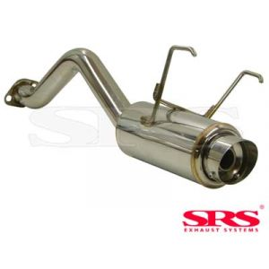 SRS Rear Muffler G50 Conical Flange 61mm Stainless Steel Honda Civic,Del Sol-41318