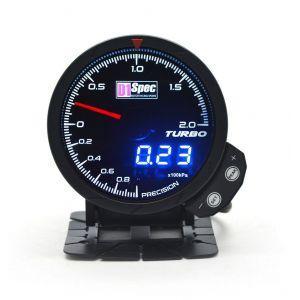D1 Spec Gauge Version 3 Black 60mm Boost Pressure-62407