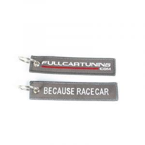 Fullcartuning Key Chain Because Racecar Grey-56207