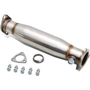 SK-Import Silenced Decat 60.5mm Stainless Steel Honda Civic,Del Sol-30025