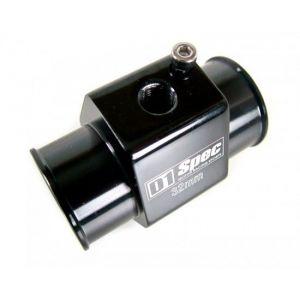 D1 Spec Water Temperature Sensor Adapter Black Aluminium-35457