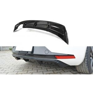 Maxton Rear Diffuser Black ABS Plastic Seat Leon-77179