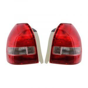 Sonar Tail Light JDM Style Clear Lens Red Lens Honda Civic-36449