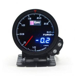 D1 Spec Gauge Version 3 Black 60mm Boost Pressure-62408