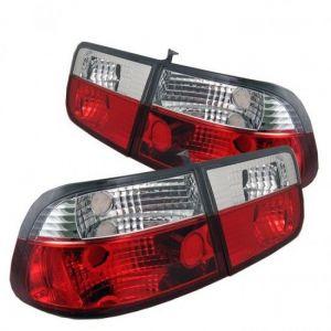 Sonar Tail Light JDM Style Clear Lens Red Lens Honda Civic-41049