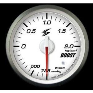 Stri Gauge DSD Club Sport White 52mm Boost Pressure-41716