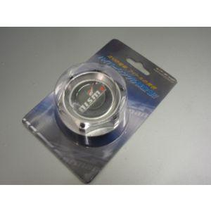 SK-Import Engine Oil Cap Nismo Style Silver Aluminium Nissan 300 ZX,350Z,370Z-39591