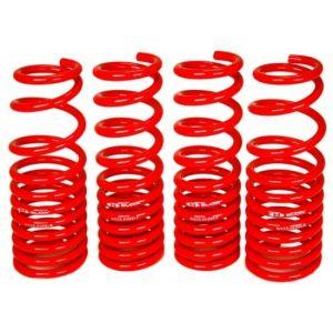 Blox Racing Lowering Springs Red Steel Honda Civic,CRX,Shuttle-44390