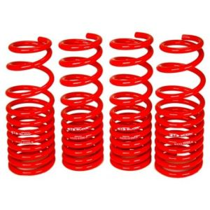Blox Racing Lowering Springs Red Steel Honda Civic-44392