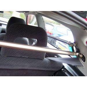 SK-Import Strut Bar B+C Pillar Silver Aluminium Honda Civic-45061