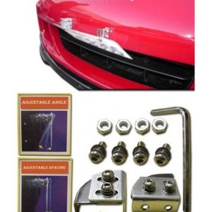 SK-Import Licence Plate Relocation Kit Zeazous Style Aluminium-46927