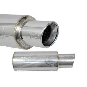 Injen Universal Muffler 76mm Stainless Steel-47136