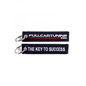 Fullcartuning Key Chain JDM Style The Key to Succes Black-47227