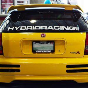Hybrid Racing Sticker HR Banner 101cm-55463