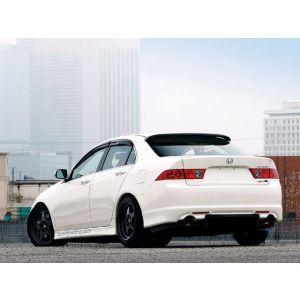 SK-Import Rear Window Visor Smoke Plastic Honda Accord-56217