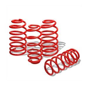 SK-Import Lowering Springs Red Steel Honda Civic,CRX,Shuttle-56375