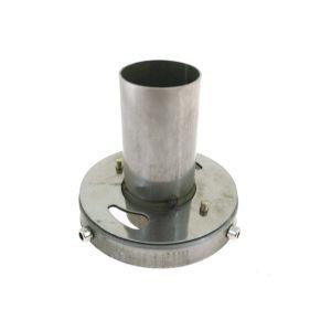 SK-Import Silencer 110mm Stainless Steel-56398