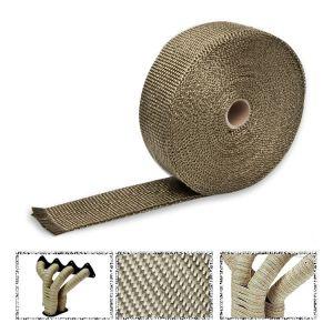 SK-Import Exhaust Heat Wrap Titanium 10 Meter-56403