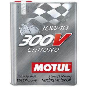 Motul Engine Oil 300V Chrone 2 Liter 10W-40 100 Synthetic-58894