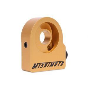 Mishimoto Oil Cooler Sandwich plate Gold Aluminium-60326