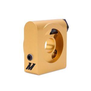 Mishimoto Oil Cooler Sandwich plate 85 Degrees Gold Aluminium-60747