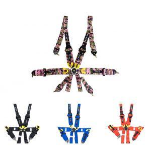 NRG Innovations Seatbelts Nylon-77512