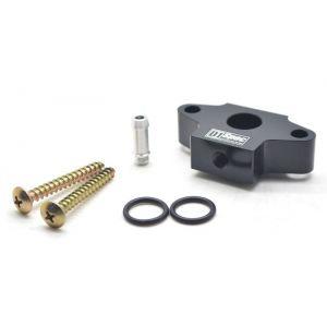 D1 Spec Gauge Adapter Black For Boost Pressure Sensor Tap Steel BMW 2-serie,3-serie,5-serie-62661