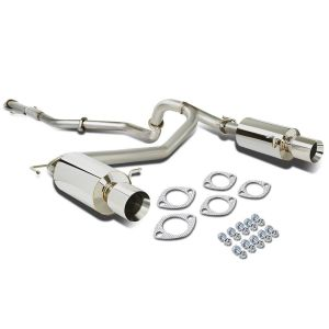 SK-Import Cat-back System Rolled Tip 61mm Stainless Steel Hyundai Coupé-62845