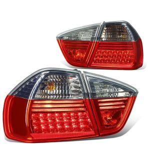SK-Import Tail Light LED Red Lens Smoke Lens BMW 3-serie Pre Facelift-64207