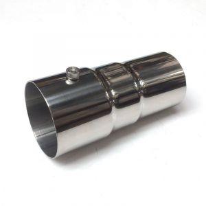M2 Motorsport Silencer 60mm Stainless Steel-64669