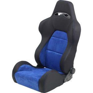 SK-Import Seat As Adjustable Black - Blue-64957