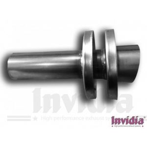 Invidia Silencer GT300 GT350 99.3mm Stainless Steel-64981