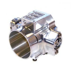 Blox Racing Billet Throttle Body Silver 72mm Billet Aluminium Honda Civic,Accord,Integra-66474