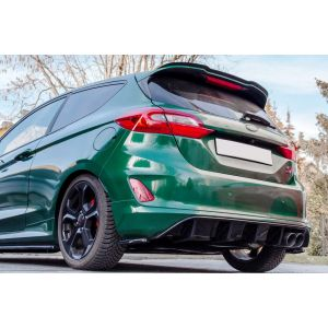 Maxton Rear Diffuser Black ABS Plastic Ford Fiesta-76979