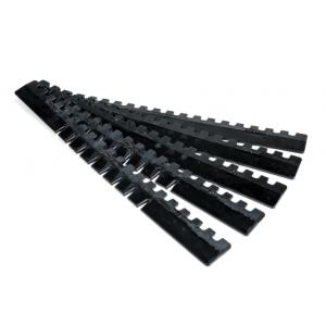 Acexxon Front Bumper Lip Protector Kit Black Rubber-67149