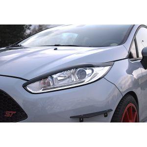 Maxton Eye Lids V1 Black ABS Plastic Ford Fiesta Facelift-76977
