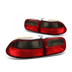 Sonar Tail Light JDM Style Red Lens Smoke Lens Honda Civic-67198