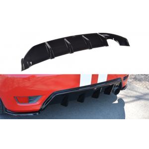 Maxton Rear Diffuser Black ABS Plastic Ford Fiesta-76962