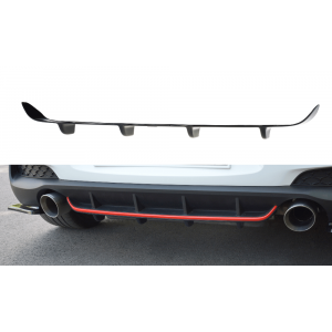 Maxton Rear Diffuser Black ABS Plastic Hyundai I30-77066
