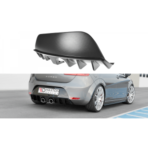 Maxton Rear Diffuser Black ABS Plastic Seat Leon Facelift-77148