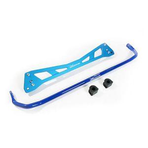 Hardrace Rear Subframe Brace Blue 25.4mm Stainless Steel Honda Civic,Del Sol-66550