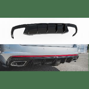 Maxton Rear Diffuser V2 Black ABS Plastic Skoda Octavia-77195
