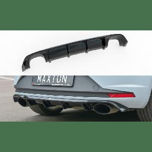 Maxton Rear Diffuser Black ABS Plastic Seat Leon-77153